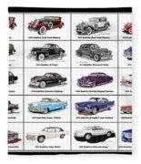 Cadillac La Salle Automotive Poster Fleece Blanket