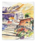 Cadiz Spain 01 Fleece Blanket