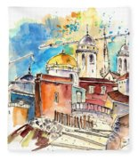 Cadiz Spain 02 Fleece Blanket