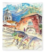 Cadiz Spain 03 Fleece Blanket