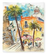 Cadiz Spain 04 Fleece Blanket