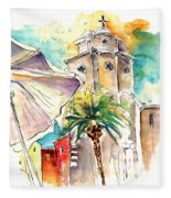 Cadiz Spain 12 Fleece Blanket