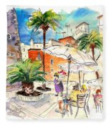 Cadiz Spain 13 Fleece Blanket