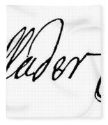 Cadwallader Colden (1688-1776) Fleece Blanket