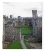 Caernarfon Castle Fleece Blanket