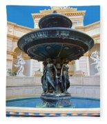Caesars Fountain Fleece Blanket