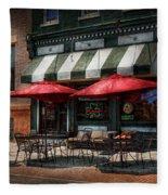 Cafe - Albany Ny - Mc Geary's Pub Fleece Blanket