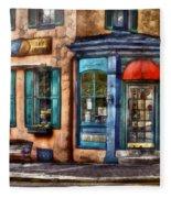 Cafe - Cafe America Fleece Blanket