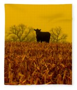 Cafe Du Mais Fleece Blanket