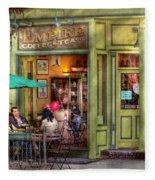 Cafe - Hoboken Nj - Empire Coffee And Tea Fleece Blanket