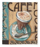 Cafe Nouveau 1 Fleece Blanket