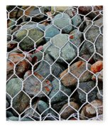 Caged By Barbara Griffin Fleece Blanket