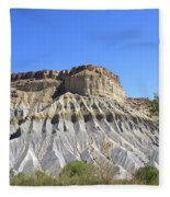 Caineville Mesa Utah Fleece Blanket