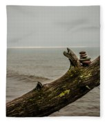 Cairn On Superior Fleece Blanket