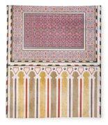 Cairo Decoration Of The El Bordeyny Fleece Blanket