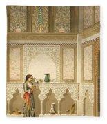 Cairo Interior  Fleece Blanket
