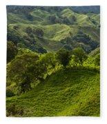 Caizan Hills Fleece Blanket