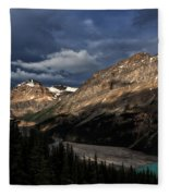 Caldron Peak  Fleece Blanket