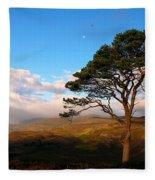Caledonian Colours Fleece Blanket