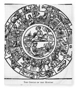 Calendar, 1503 Fleece Blanket