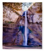 Calf Creek Falls  Fleece Blanket