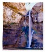 Calf Creek Falls 2 Fleece Blanket