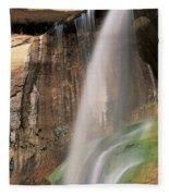 Calf Creek Falls Ut Usa Fleece Blanket