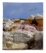 Calhan Paint Mines 2 Fleece Blanket