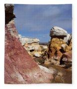 Calhan Paint Mines 3 Fleece Blanket