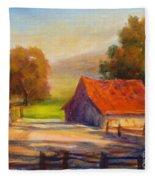 California Barn Fleece Blanket