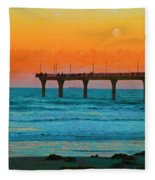 California Dreamin' Fleece Blanket