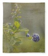 California Lilac Fleece Blanket