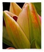 California Lily Fleece Blanket