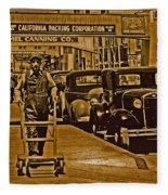 California Packing Corporation Fleece Blanket