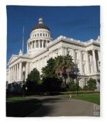 California State Capitol Fleece Blanket