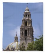 California Tower, Balboa Park, San Diego, California Fleece Blanket