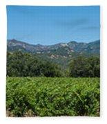 Calistoga Valley 2 Fleece Blanket