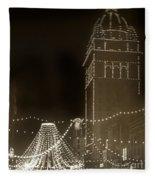 Call Building On Market Street San Francisco California 1902 Fleece Blanket