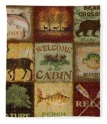 Call Of The Wilderness Fleece Blanket