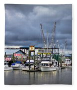 Calm Before The Storm Fleece Blanket
