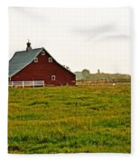 Calm Of The Morning Fleece Blanket