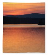 Calm Sunset Fleece Blanket