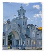 Calvary Gatehouse  Fleece Blanket