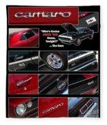 Camaro-drive - Poster Fleece Blanket