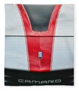 Camaro Fleece Blanket