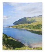 Camas Nan Geall Ardnamurchan Scotland Fleece Blanket