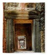 Cambodia Angkor Wat 5 Fleece Blanket