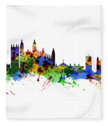 Cambridge England Fleece Blanket