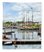Camden Marina Fleece Blanket
