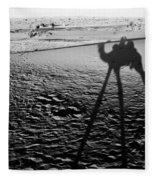 Camel Shadow Fleece Blanket